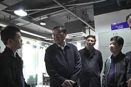 南昌市委书记龚建华等领导莅临华邦公司视察