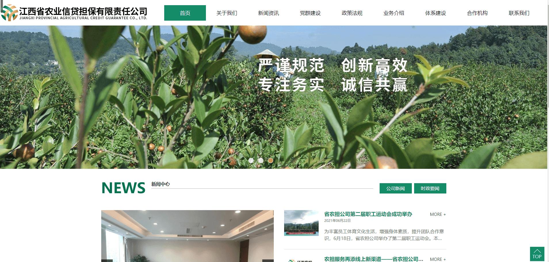 江西省农业信贷担保有限责任公司